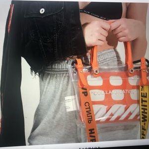 Handbags - Heron Preston and Off-White collaboration bag